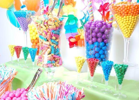 Fun display. Candy Galaxy.