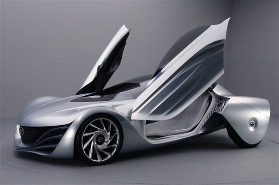 Future Car, Futuristic Vehicle, Mazda Taiki Concept (2007)