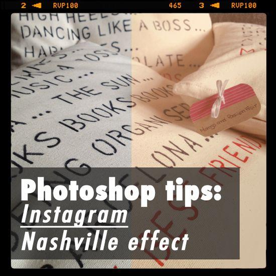 Photoshop tricks: Another Instagram inspired post – Nashville effect
