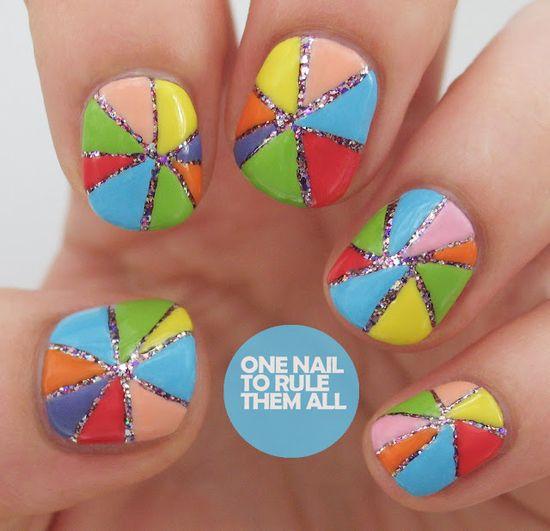 One Nail To Rule Them All #nail #nails #nailart