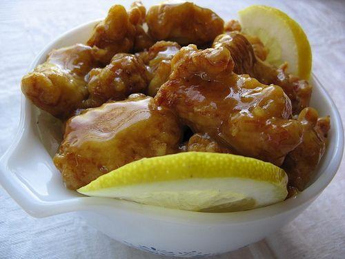 Chinese Lemon Chicken!