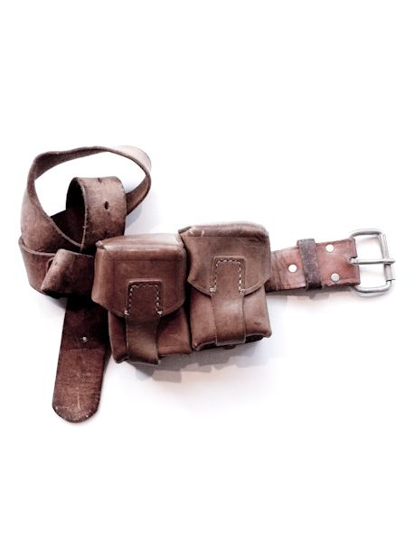 vintage Double Pocket Belt Bag  395$ (!!!!) at Mandula (LESS at a military stock!!!)