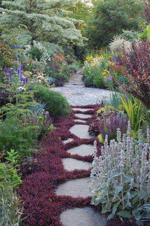 Beautiful garden path...
