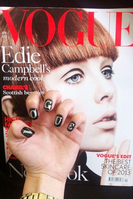 Sharpie Pen Nail Art Beauty Blog How-To (Vogue.com UK)