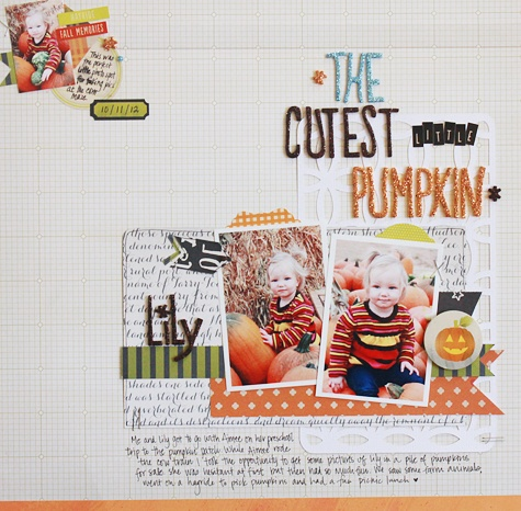 The Cutest Little Pumpkin..by Becky Williams