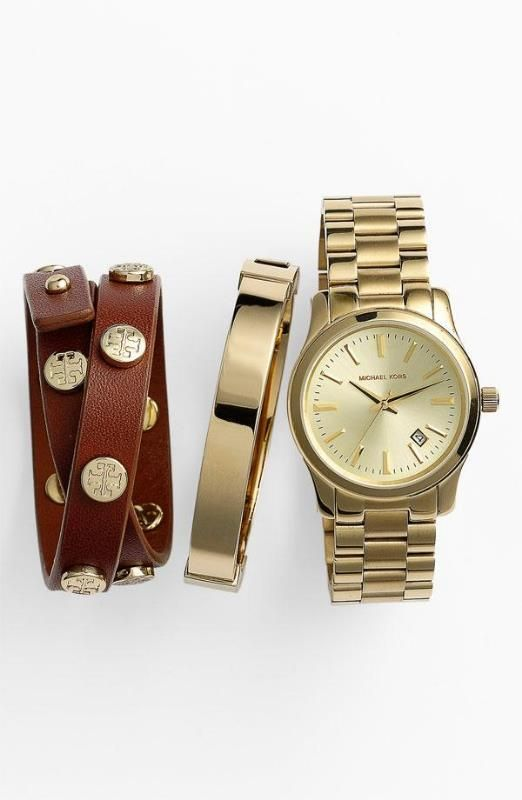 Michael Kors + Tory Burch Stacked Wrist