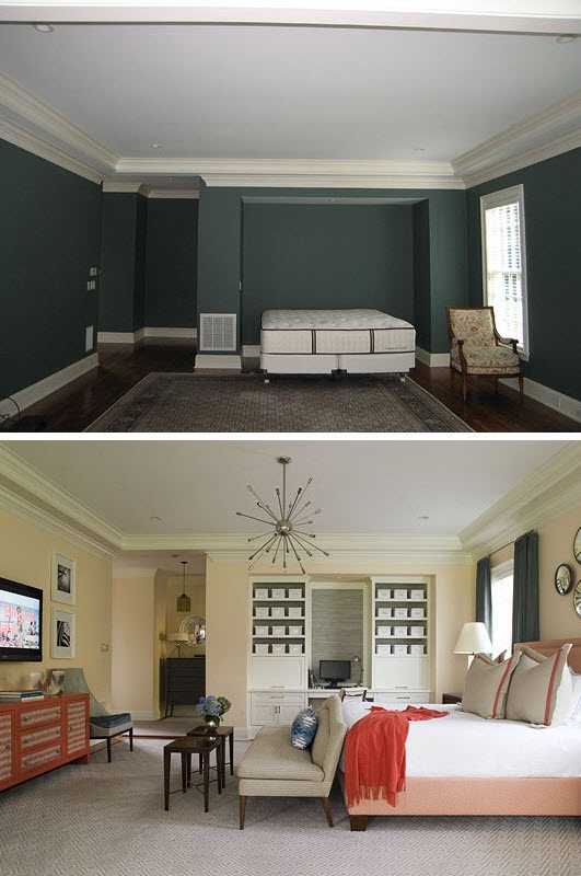 @MarkandBrooke Sumbera - Master bedroom furniture arrangement