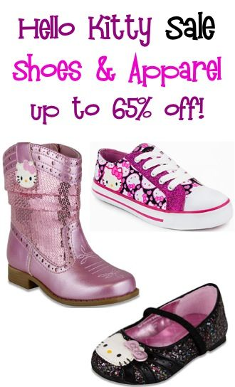 Hello Kitty Shoes and Apparel Sale ~ up to 65% off!