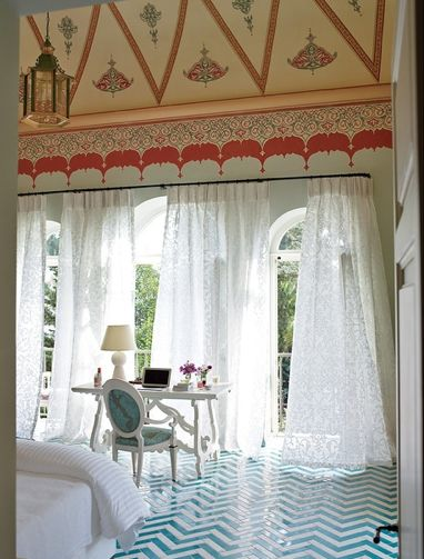 Villa Margherita Francis Ford Coppola; suite no. 9- my favorite.  That floor is amazing