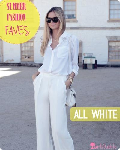 Summer Fashion Faves: All White