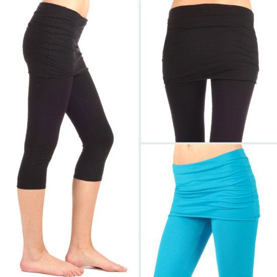 Anjali Kosa Crop Leggings $59. These are perfect for adding a little coverage to your backside.