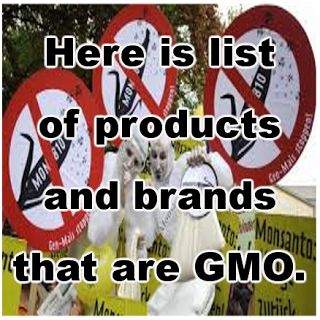 Natural Cures Not Medicine: A List of GMO Companies And Products