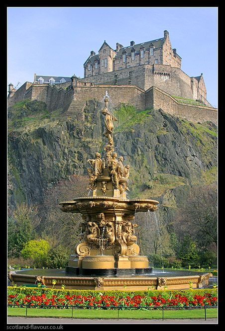 Edinburgh Castle, Scotland #monogramsvacation