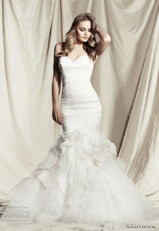 Pallas Couture 2013/2014 Wedding Dresses