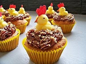 Cupcakes de Pâques -