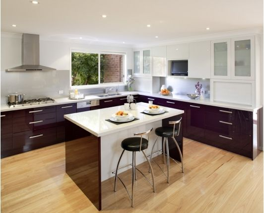 modern kitchen design idea - Home and Garden Design Ideas