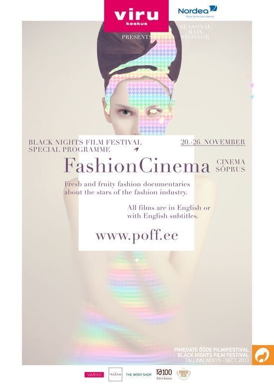 Fashion Cinema logo, illustration, graphic design by Helene Vetik.
