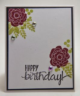 Homemade Cards by Erin: flower Card