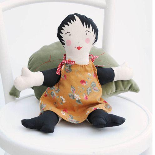 Sale Handmade Cloth Doll £15.00