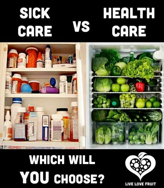 Sick care vs Health #better health naturally #health food #health care #health guide #health tips