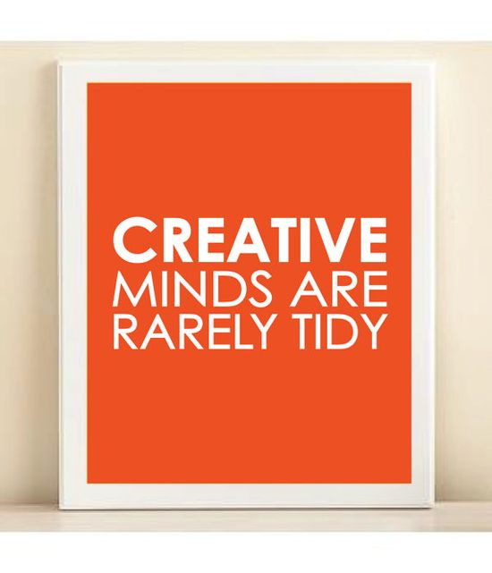 Tangerine Creative Minds print poster by AmandaCatherineDes, $15.00