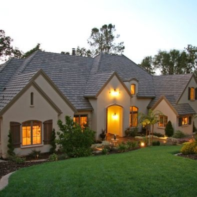 Exterior house colors with brown roof design pictures - House colors with brown roof ...