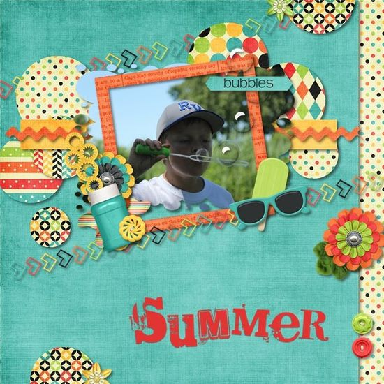 Crazy Days of Summer by Designs by Colie's Corner - Scrapbook.com