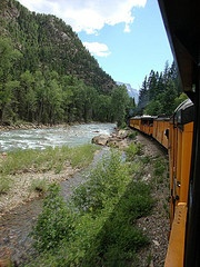 Train ride across the US