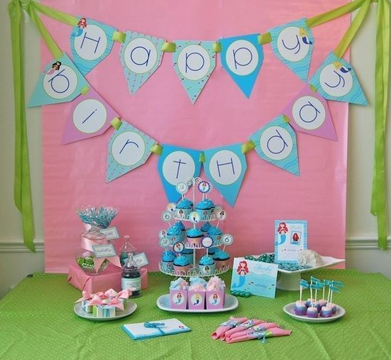 idea for her birthday party
