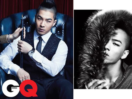 And in Korean GQ .