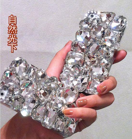 IPhone Case Bling Luxurious Gem Diamond Case For iPhone 4 Case iPhone 4S Case  iphone 4/4S case IPhone 5 Case