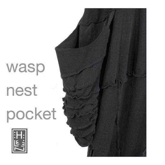 wasp nest skirt by Secret Lentil, via Flickr