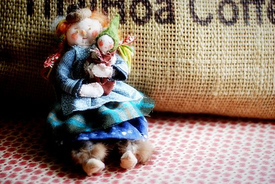 Handmade Doll by sew liberated, via Flickr