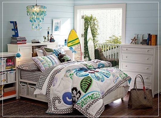 teen girl bedroom idea