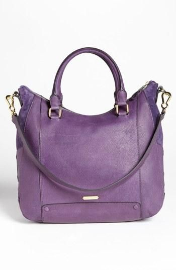 Purple power: Vince Camuto Satchel
