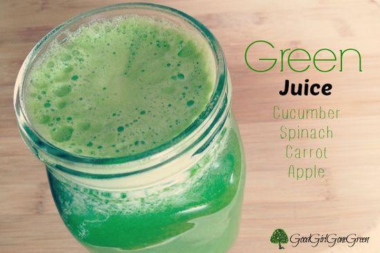 The #Green Vegetable Juice #organic #health #recipe #vegan GoodGirlGoneGreen...