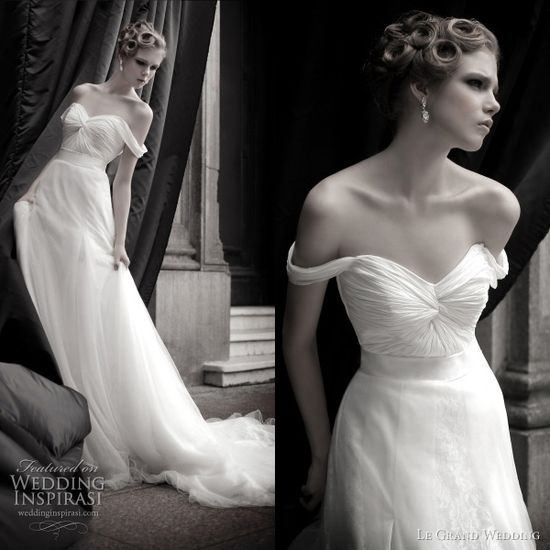 Le Grand wedding dress 2011