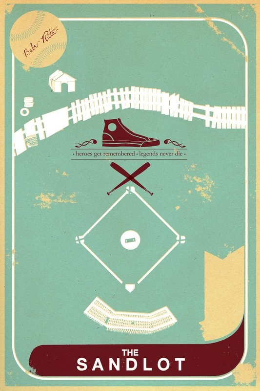 Minimal Movie Posters: The Sandlot