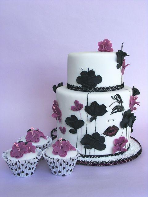 Kiss for my love birthday cake