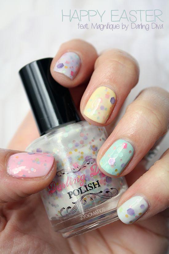 Pastels & glitter