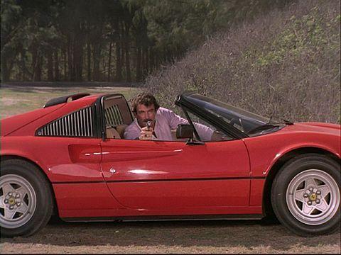 Magnum's Ferrari