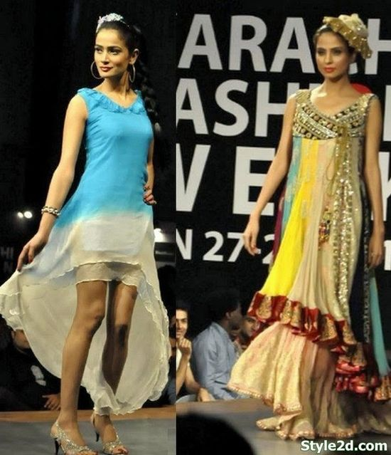 Amazing great Pakistani Fashion for Summer 2014