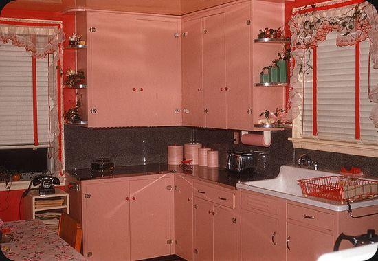Pink Kitchen — 1956