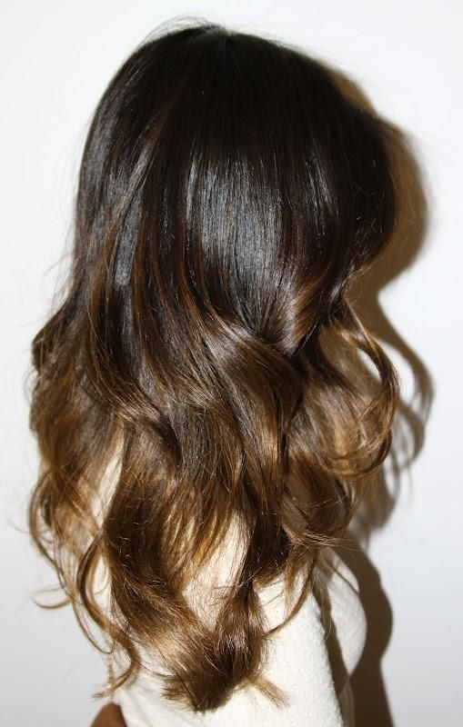 brunette ombre – love this colour // WANT SO BAD