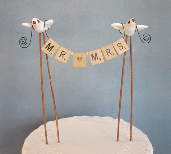 MR and MRS #Wedding Cake Topper ... Wedding ideas for brides, grooms, parents & planners ... itunes.apple.com/... … plus how to organise an entire wedding, without overspending ? The Gold Wedding Planner iPhone App ?