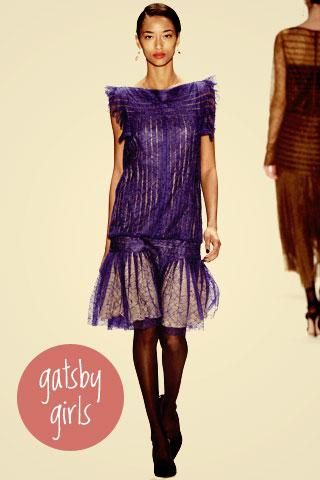 2012 fall trend - gatsby inspired fashion