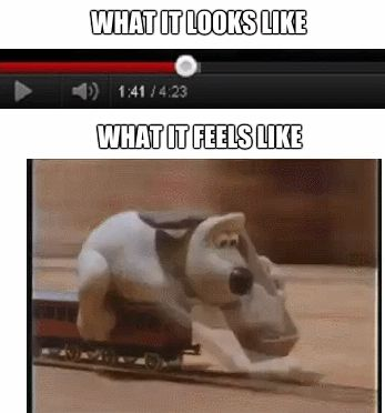 When Youtube plays and buffers at the same speed...
