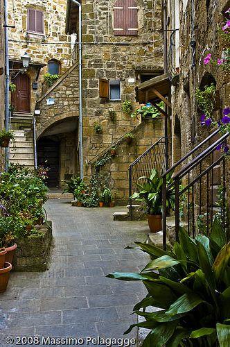 Pitigliano, Tuscany,