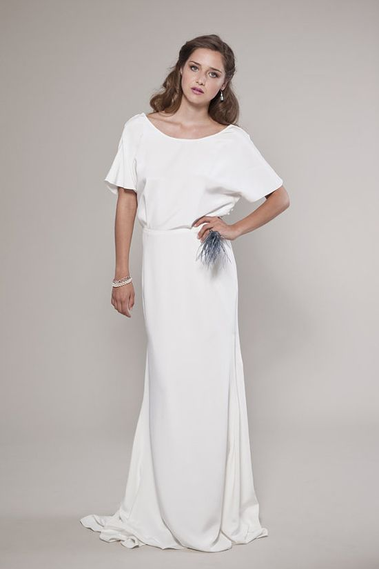 Vintage Inspired Wedding Dress Audrey Blouse and by winifredbean, $2000.00