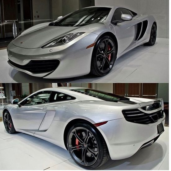 Who else things this car is sexy? McLaren MP4-12C